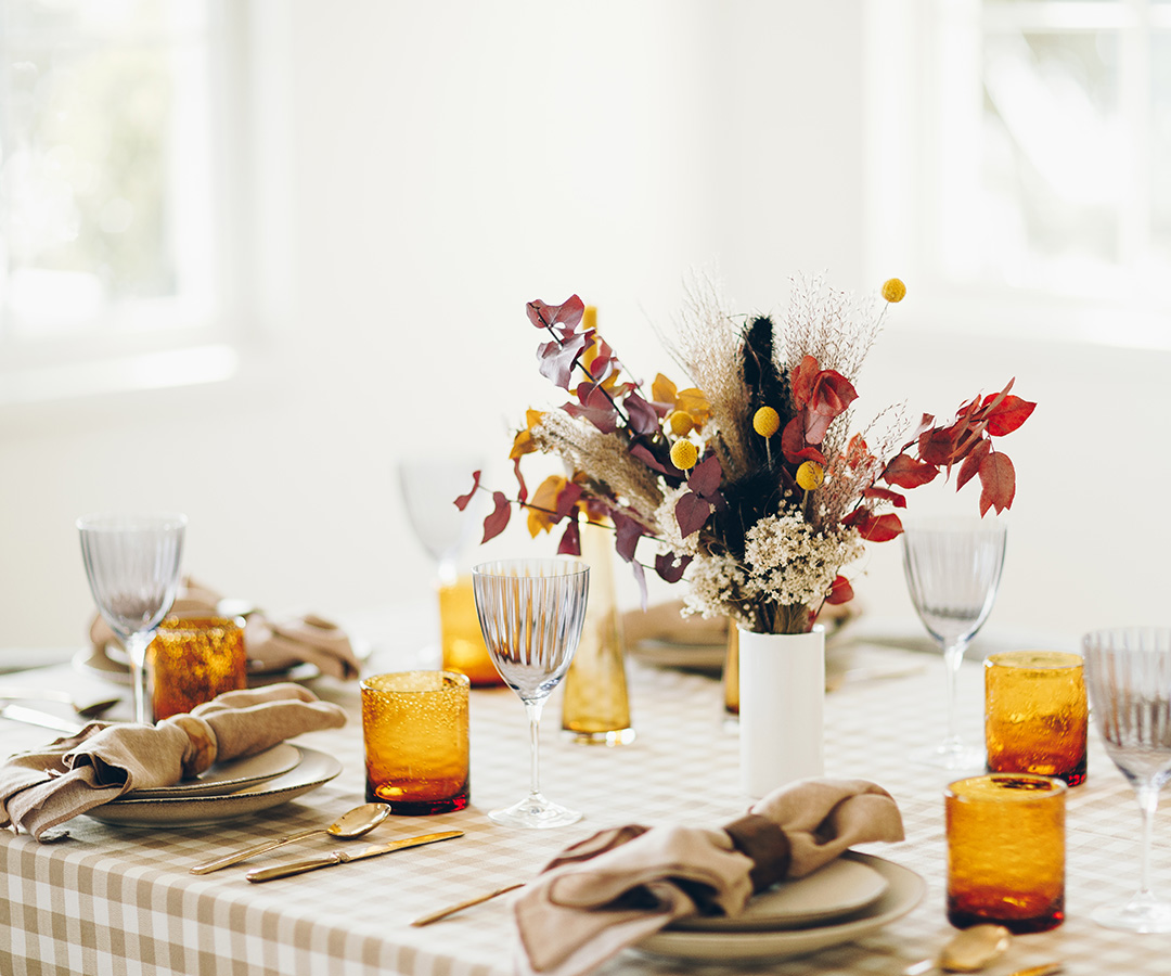 Dried florals for Thanksgiving