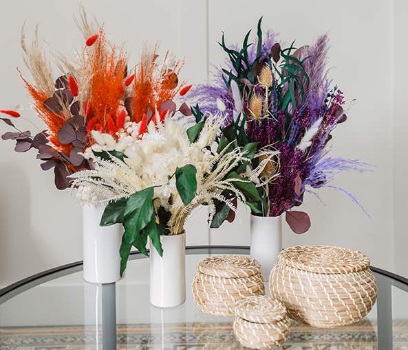 Dried bouquet collection