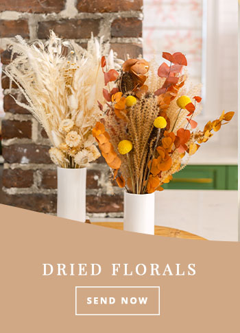 Thanksgiving dried florals
