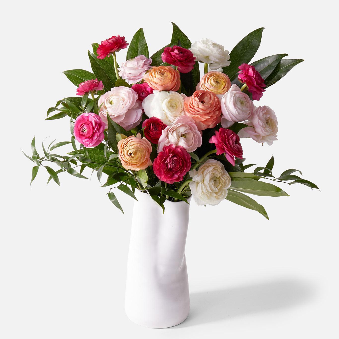 vogue pink flowers