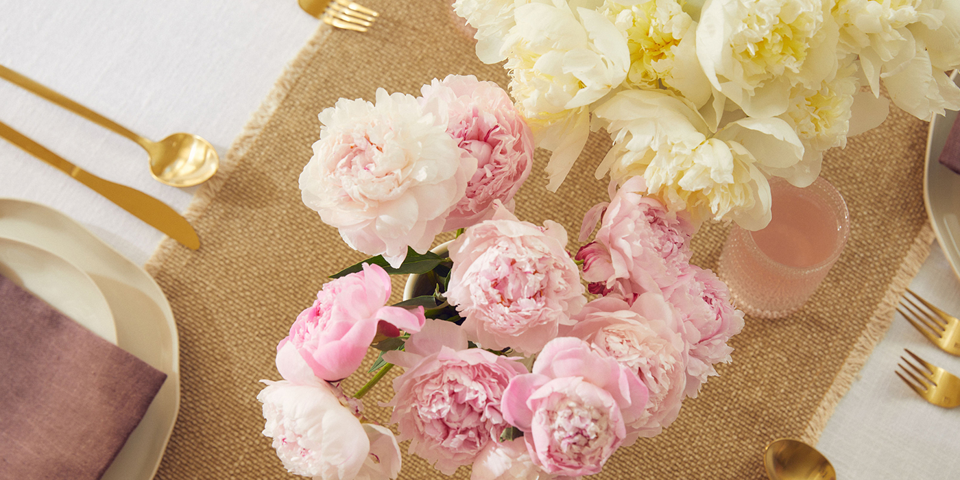 send peonies for Mother's Day. Peony flowers