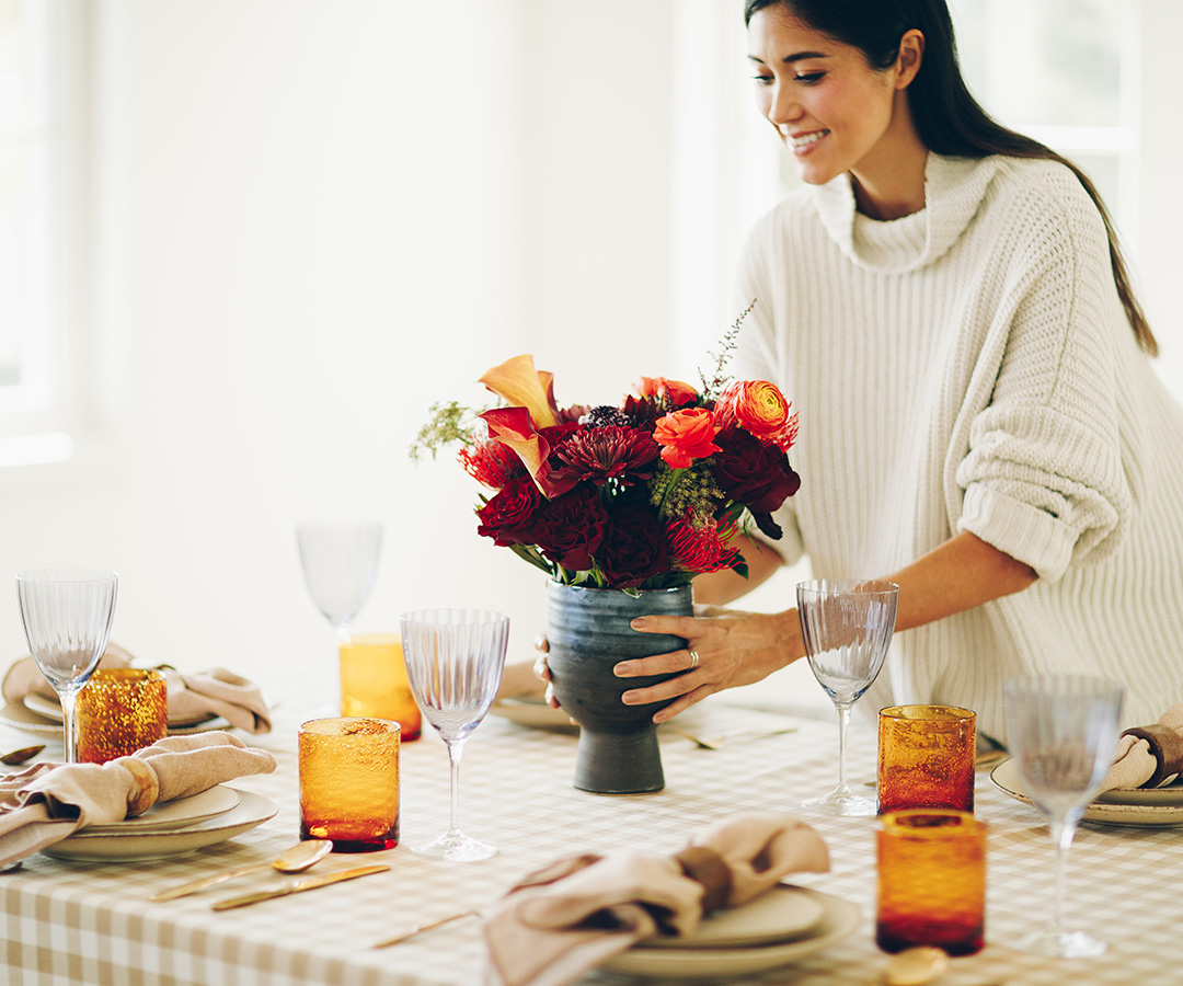 Set the table for Thanksgiving
