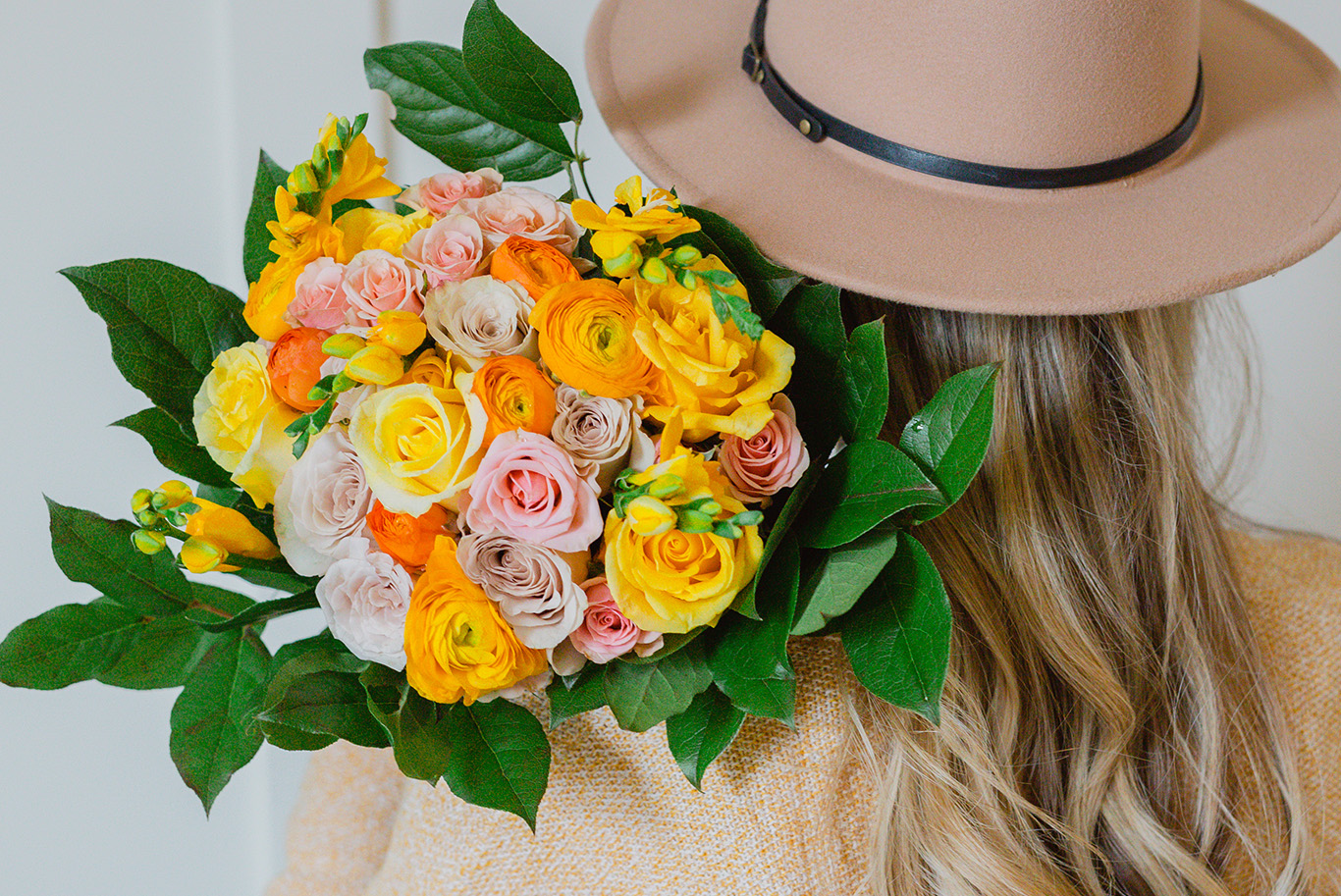 Bouquets inspired by Pantone's Color of the Year